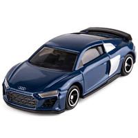 多美(TAKARA TOMY)合金仿真小汽车模型38号奥迪 R8 Coupe轿跑车 158660 *9件