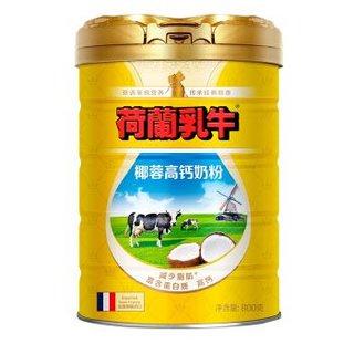DutchCow 荷兰乳牛 椰蓉高钙奶粉  800g + 永和豆浆低糖原味豆乳250ml*18盒+ 来伊份岩烧乳酪吐司500g +凑单品