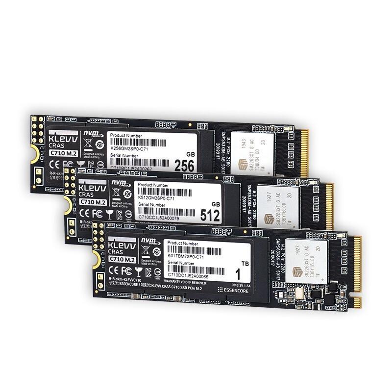 KLEVV 科赋  CRAS C710 NVMe M.2固态硬盘 1TB