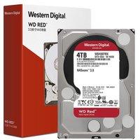 Western Digital 西部数据 红盘系列 3.5英寸NAS硬盘 4TB 64MB(5400rpm、PMR)WD40EFRX