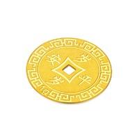 CHOW TAI FOOK 周大福 1.0g CTF-160-F217472-A  岁岁平安 黄金金币