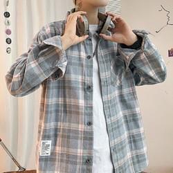 A面B面 KXP-G42 男士格纹衬衫
