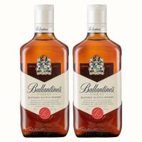 必买年货:Ballantine's 百龄坛 威士忌 500ml*2瓶