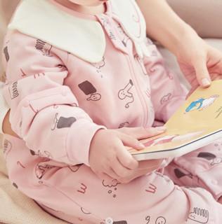 Wellber 威尔贝鲁 婴儿睡袋 洗香香 65cm