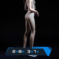 MSGD 紧身运动裤 女子高腰提臀高弹健身裤健美裤 Freezing Brown 冷灰棕 *3件