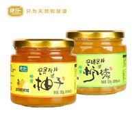 jesitte  捷氏 蜂蜜柠檬/柚子茶  500g