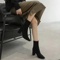 疯狂星期三:RUXI 如熙 18092140238 女士加绒中筒靴