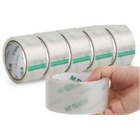 M&G 晨光 透明胶带 4.5cm*40m 5卷装 送美工刀