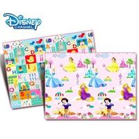 Disney 迪士尼 宝宝EPE材质爬爬垫 爱心公主+米奇字母 180*150*2