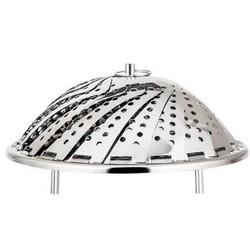 欧橡 OAK 可调节蒸笼 不锈钢蒸屉蒸架可伸缩折叠拆卸蒸格 加厚多功能蒸笼盘水果篮OX-C123 *22件