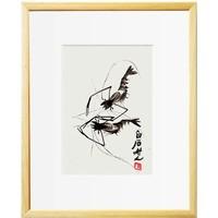 荣宝斋木版水印装饰画齐白石现代简约客厅餐厅卧室办公室壁画国画