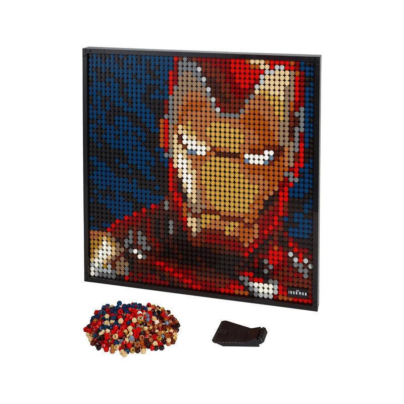 百亿补贴 : LEGO 乐高 艺术生活系列 31199 像素颗粒画 钢铁侠