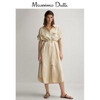 Massimo Dutti 06626546710 女装简约风长款连衣裙