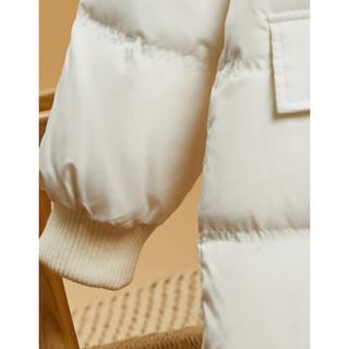 sofa 沙发 女士中长款羽绒服 W94R500182 白色 L