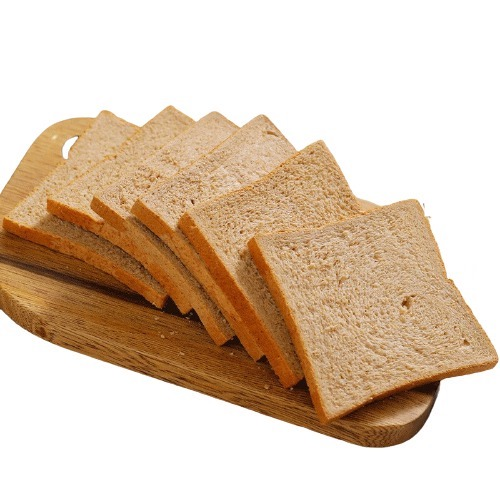 SHARKFIT 鲨鱼菲特 全麦面包 欧包 无添加蔗糖面包片 高饱腹营养控卡代餐粗粮切片吐司 共1050g