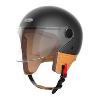 smart4u  MH20 骑士复古头盔 石墨绿