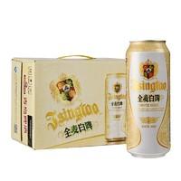 TSINGTAO 青岛啤酒 全麦白啤 11度 500ml*12听