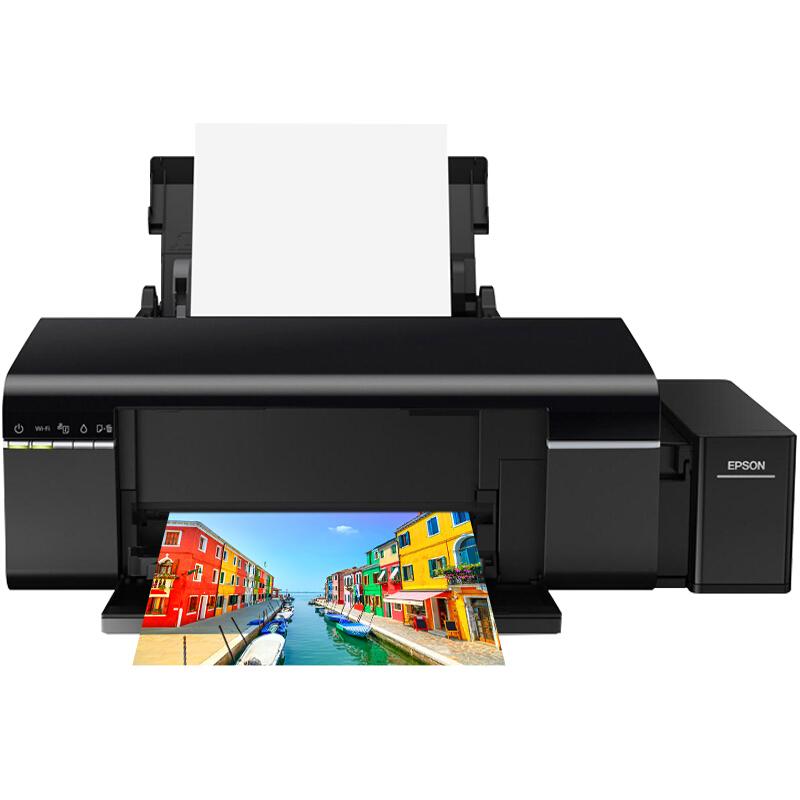 EPSON 爱普生 L805 6色墨仓式照片打印机 不含墨水