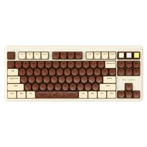 iKBC 歌帝梵联名 无线蓝牙双模机械键盘 红轴 87键