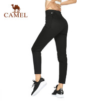 骆驼CAMEL运动长裤女健身跑步爆汗裤燃脂瑜伽裤子