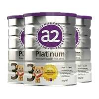a2 艾尔 白金系列 婴幼儿配方奶粉 3段 900g *3