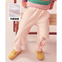 LAVI女童装婴幼裤子2020冬季新款女小童束腿裤厚加绒保暖宝宝长裤