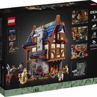 2月新品 LEGO 21325 樂高积木玩具 IDEAS 创意 中世纪铁匠铺
