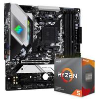 华擎(ASRock)B550M Steel Legend主板+AMD 锐龙5 3600 处理器 板U套装
