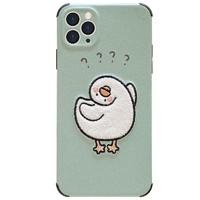 玩胜 刺绣小鸭子 苹果手机壳