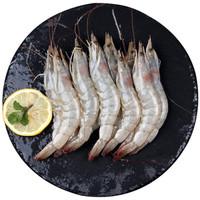 浓鲜时光 海捕白虾 50-60只/kg