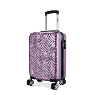 Diplomat 外交官 TC-623系列 中性拉链万向轮拉杆箱 镜面紫色 24英寸