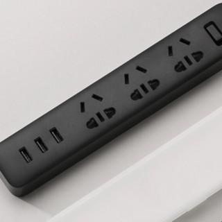 MI 小米 XMCXB01QM 新国标USB插座 黑色