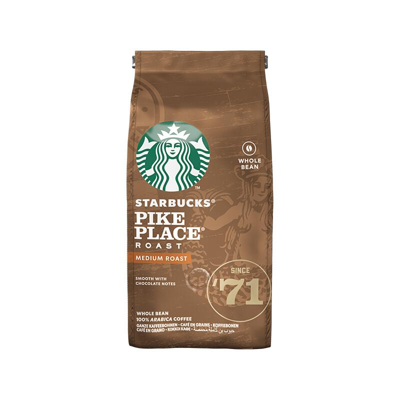 STARBUCKS 星巴克 pike place 中度烘焙 咖啡豆 200g