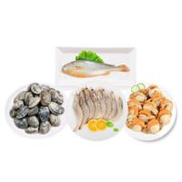 京东PLUS会员:mr seafood  京鲜生  国产海鲜礼盒生鲜大礼包 海鲜礼盒B款  1800g