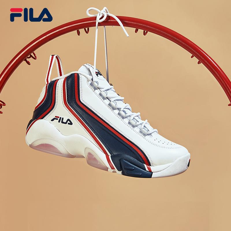 FILA 斐乐 SH2 F12M111224F 男款高帮复古篮球鞋