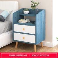 床头柜简约现代卧室床边收纳简易置物架北欧ins风迷你创意小柜子
