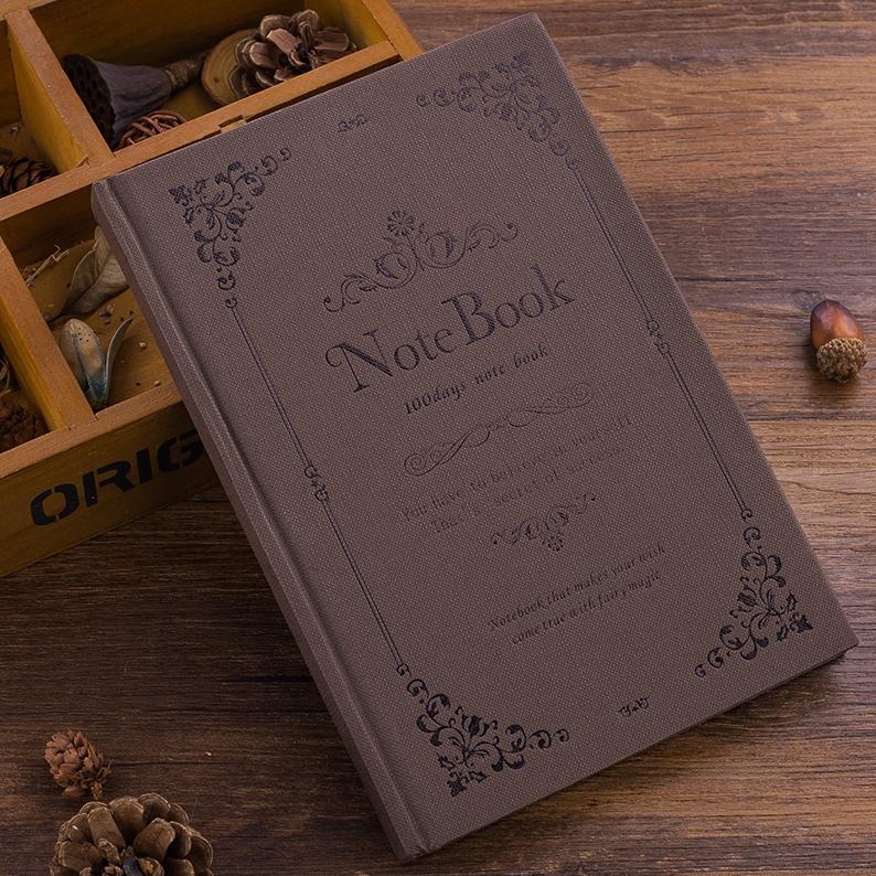 俊品 欧式复古魔法手帐本 160张 多色可选