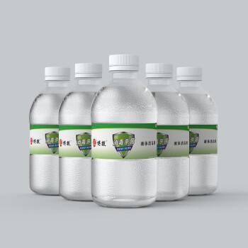 BD 博投 75%酒精消毒液 500ml*5瓶 儿童皮肤物品清洁杀菌消毒护理