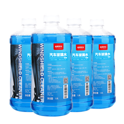 TUHU 途虎 途安星 0℃ 汽车玻璃水 1.8L*4瓶 *2件