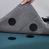 米良品 家用隐形沙发固定魔术贴 20对装