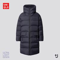 UNIQLO 432646 男士+J连帽羽绒服中长款