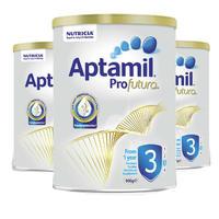 Aptamil 爱他美 白金版 婴儿配方奶粉 3段 900g *3件