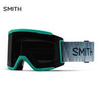 美国进口SMITH史密斯滑雪眼镜护目镜防雾装备滑雪镜SQUAD XL 大视野亚洲款 新款黑镜绿带