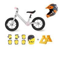 700Kids 柒小佰 71902401A1C 兒童平衡車競技全盔套裝 充氣款 粉色