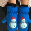 优迭尔 儿童保暖防水滑雪手套 2-7岁