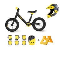 700Kids 柒小佰 71902402A1C 儿童平衡车竞技全盔套装 充气款 黄色