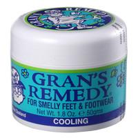 新西蘭 Gran's remedy老奶奶臭腳粉 去腳臭腳汗去鞋襪臭腳臭粉凈化除味粉 薄荷味50g*1