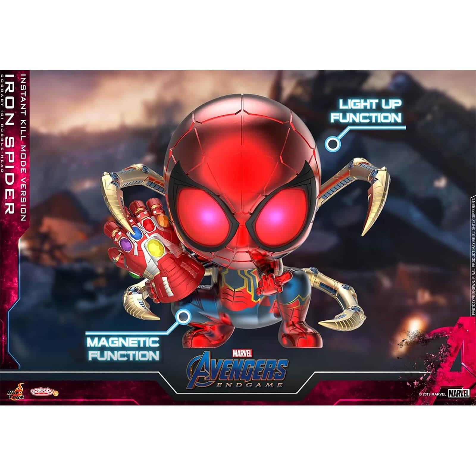 Marvel 漫威 复仇者联盟 iron spider Cosbaby玩具模型
