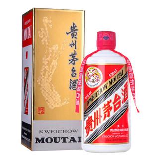 必买年货 : MOUTAI 茅台 飞天 酱香型白酒 43度 500ml