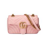 Gucci GG Marmont系列 446744 女士mini单肩包